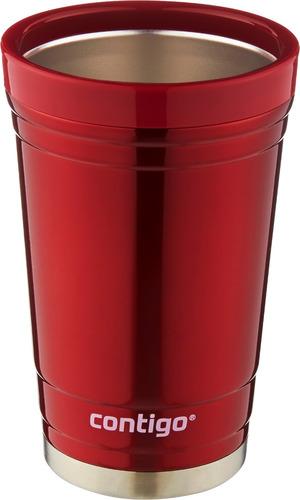 party cup cervecero vaso térmico 16 oz color rojo