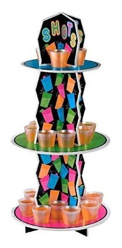 party ready reutilizable neón vaso de chupito decoración p