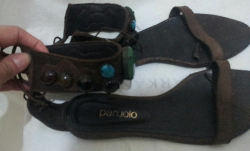 paruolo sandalias / chatitas  n * 39