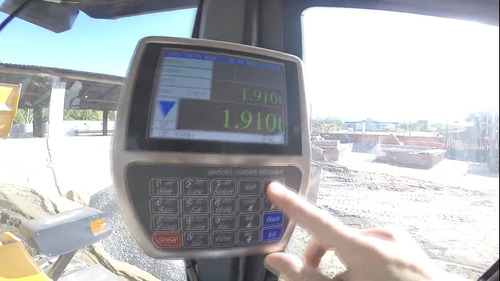 pás carregadeiras hldj 0 horas opção balança digital c/cupom