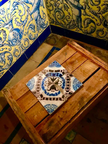 pas de calais desvres azulejos franceses antiguos / variedad