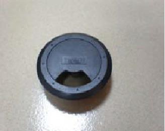 pasa cable tapa escritorio 53 regaton negro gris marron 5uni