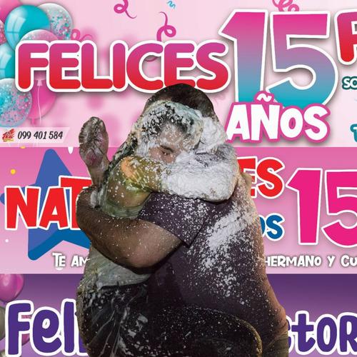 pasacalles carteles cumpleaños pancartas envío gratis
