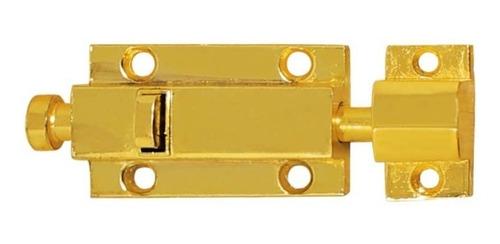 pasador automático #4 oro 751 ashicocomer