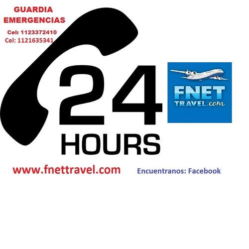 pasajes aereos / terrestres - nacionales-internacionales