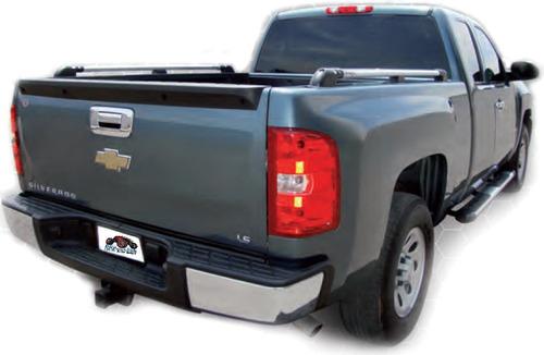 pasamanos aluminio universal pick up camionetas 1.40mts bx55