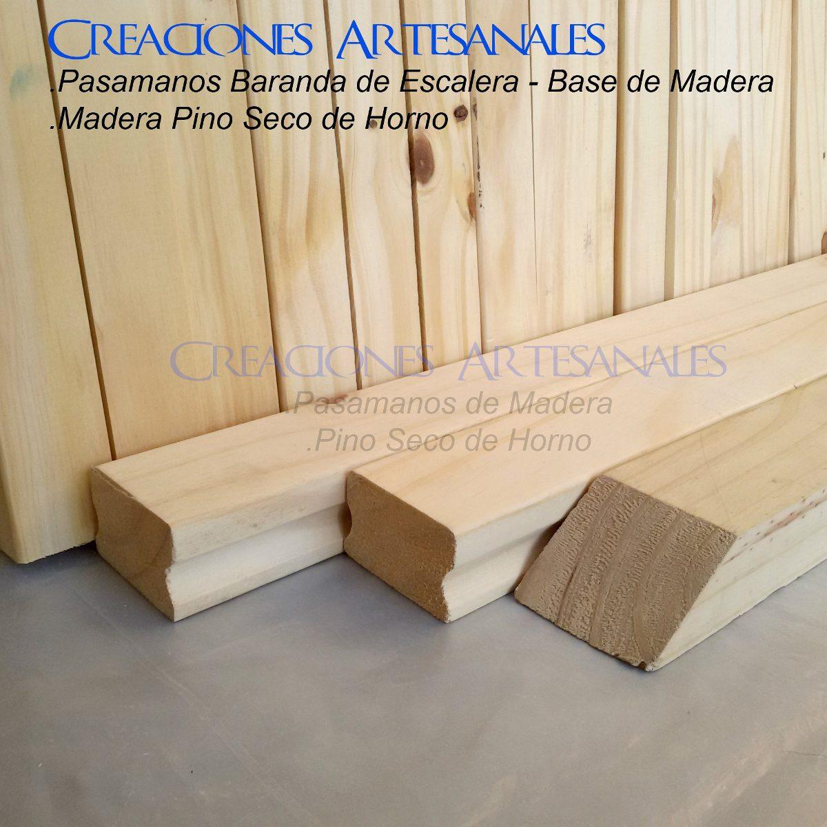 pasamanos de madera pino barandas balaustre balcon escalera