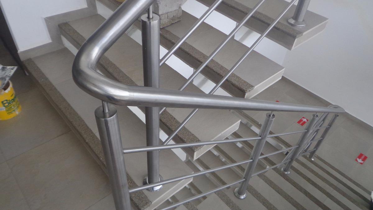 Pasamanos en acero inoxidable curvos vidrio piezas u s - Pasamanos de acero inoxidable para escaleras ...