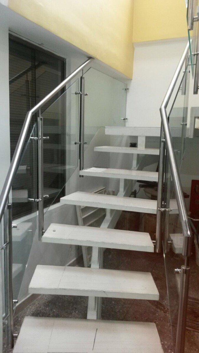 Pasamanos escaleras letras baranda en acero inoxidable - Pasamanos escaleras acero inoxidable ...