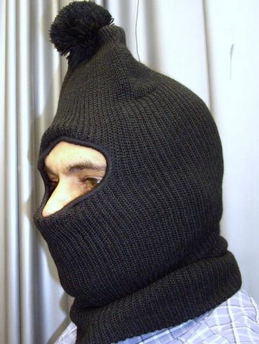 pasamontañas gorro o bufanda frio intenso nieve invierno