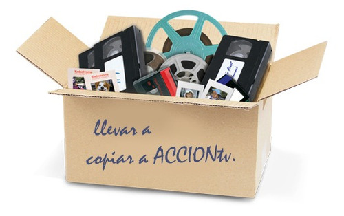 pasamos audio cassettes, lp, cambiamos carretes abierto