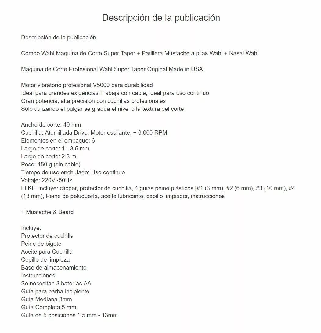 Pasamos Tus Plantillas De Mercadolibre A Texto Plano - $ 300,00 en ...