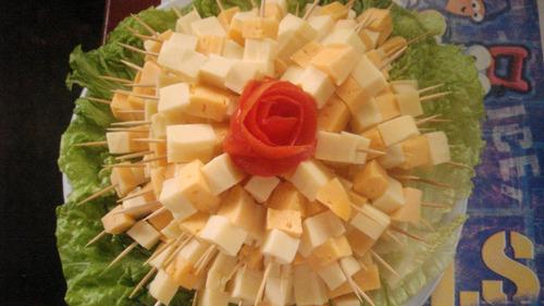 pasapalos combos buenos precios mesa  de quesos coctelera