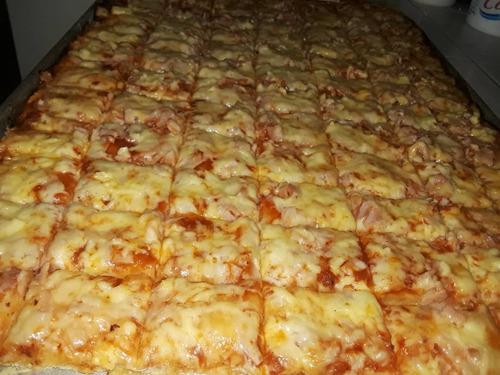 pasapalos tequeños, pastelitos, pizza, dona, trufas, galleta