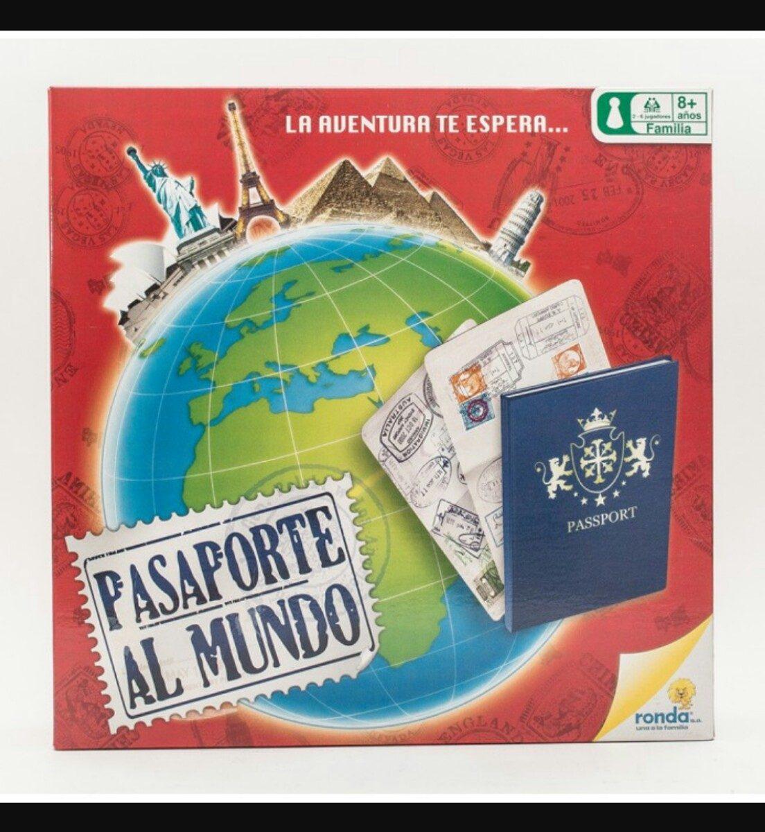 Pasaporte Al Mundo Juego De Mesa Juguete Ninos 8 Anos Bs 0 20 En