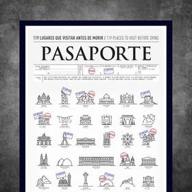 Pasaporte! Sellá Los Lugares Que Visitaste O Los Que Planeas