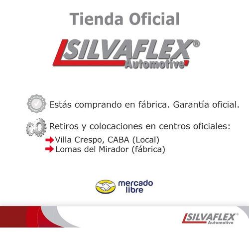 pasaruedas fenders duster 2015 al 2019 8 piezas todo colocado! directo silvaflex fabrica