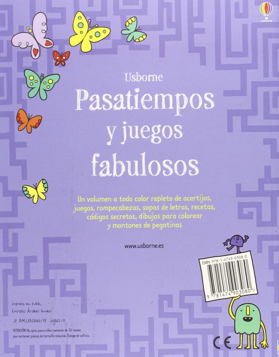 Pasatiempos Y Juegos Fabulosos 365 00 En Mercado Libre