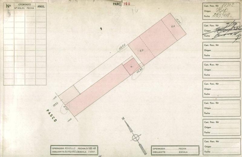 pasco y constitucion 8,50 x 47 apto 1120 m2 vendibles