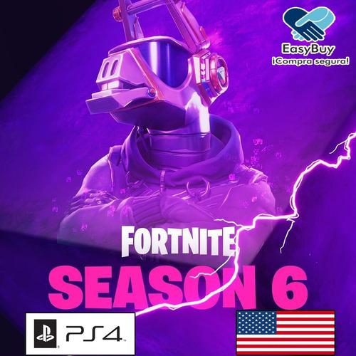 pase de batalla temporada 6 fortnite fornite battle pass ps4
