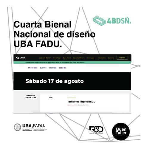 pase de competidor gran torneo argentino de impresión3d 2019