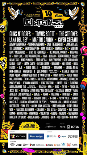 pase general lollapalooza 2020