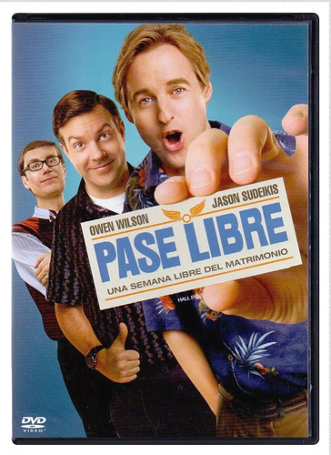 pase libre owen wilson pelicula dvd
