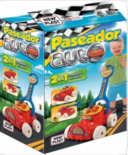 paseador arrastre auto new plast july toys
