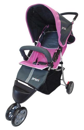 paseador para bebe super liviano 3 ruedas marca priori