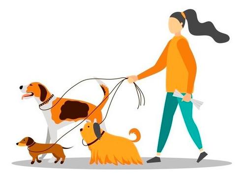 paseadora de perros.