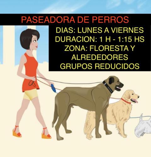 paseadora de perros floresta y alrededores consulta tu zona