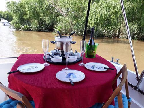 paseo en barco privado por el delta y rio de la plata