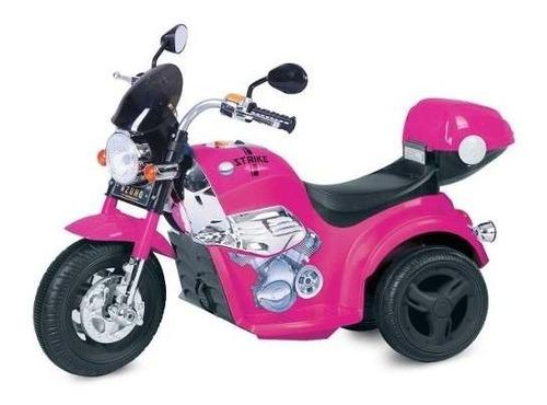 paseo en moto kid motorz 6v en rosa