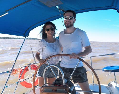 paseo velero barco grande buenos aires y colonia instruccion