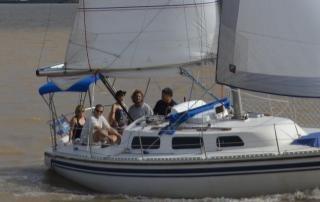 paseos en velero  exclusivos para parejas $1200  con picada