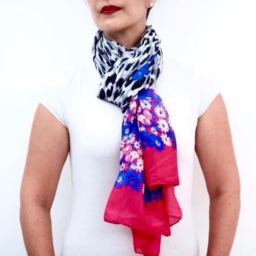 pashmina chal bufanda furca mujer elegante choker fiesta