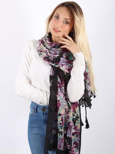 pashmina chalina pañuelo colores mujer x mayor y menor #3883