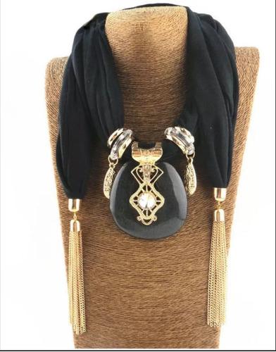 pashmina collar elegante para dama