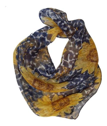 pashmina pañuelo en gasa de seda estampada imperdible!