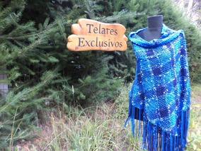 4edd9967b Polleras Lana Tejida - Pañuelos y Pashminas de Mujer Azul en Mercado ...