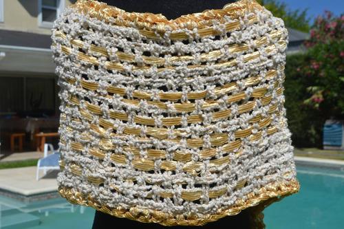 pashmina/chal/ruana/telar/tiza/dorado/tejidos artesanales
