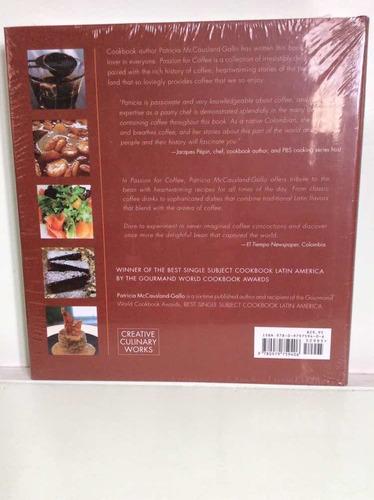 pasión por el café - recetas - cocina - en inglés