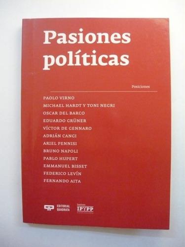 pasiones políticas, virno / hardt, ed. quadrata