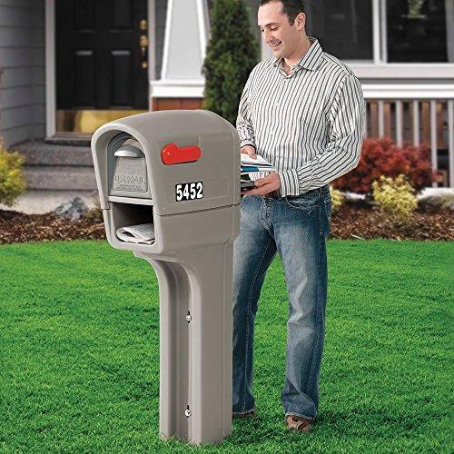 paso 2 545200 mailmaster plus buzón, gris piedra