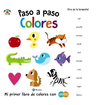 paso a paso. colores(libro infantil y juvenil)