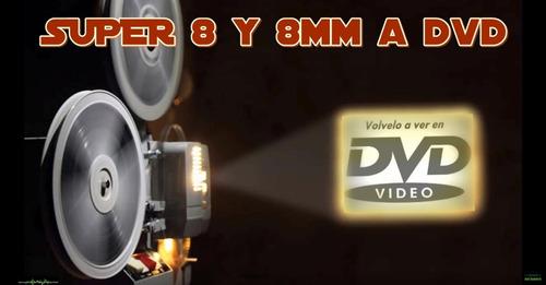 paso tus películas 8 mm y super 8 a dvd o full hd - belgrano