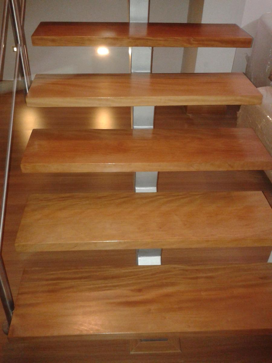 Pasos de madera para escaleras s en mercado libre for Escalera de madera 5 pasos