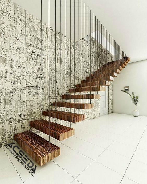Pasos para escaleras madera y metal s 120 00 en mercado for Escalera de madera 5 pasos