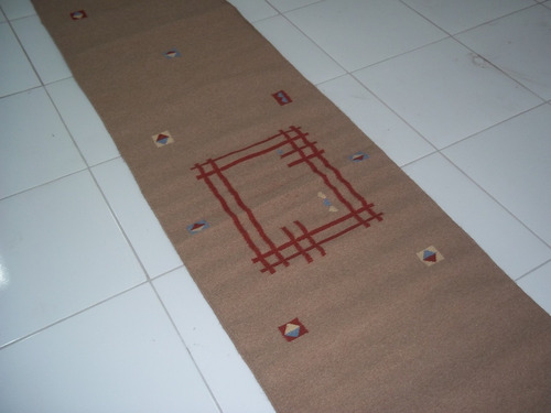 passadeira killim gabeh 0,73 x  3,90 tapetes orientais gabeh
