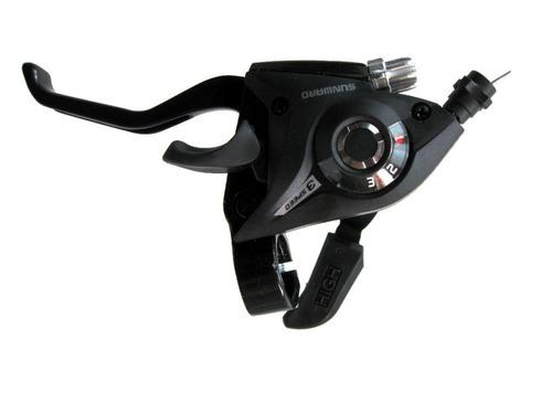 passador trocador rapid fire 21v c/ manete de freio p/ bike